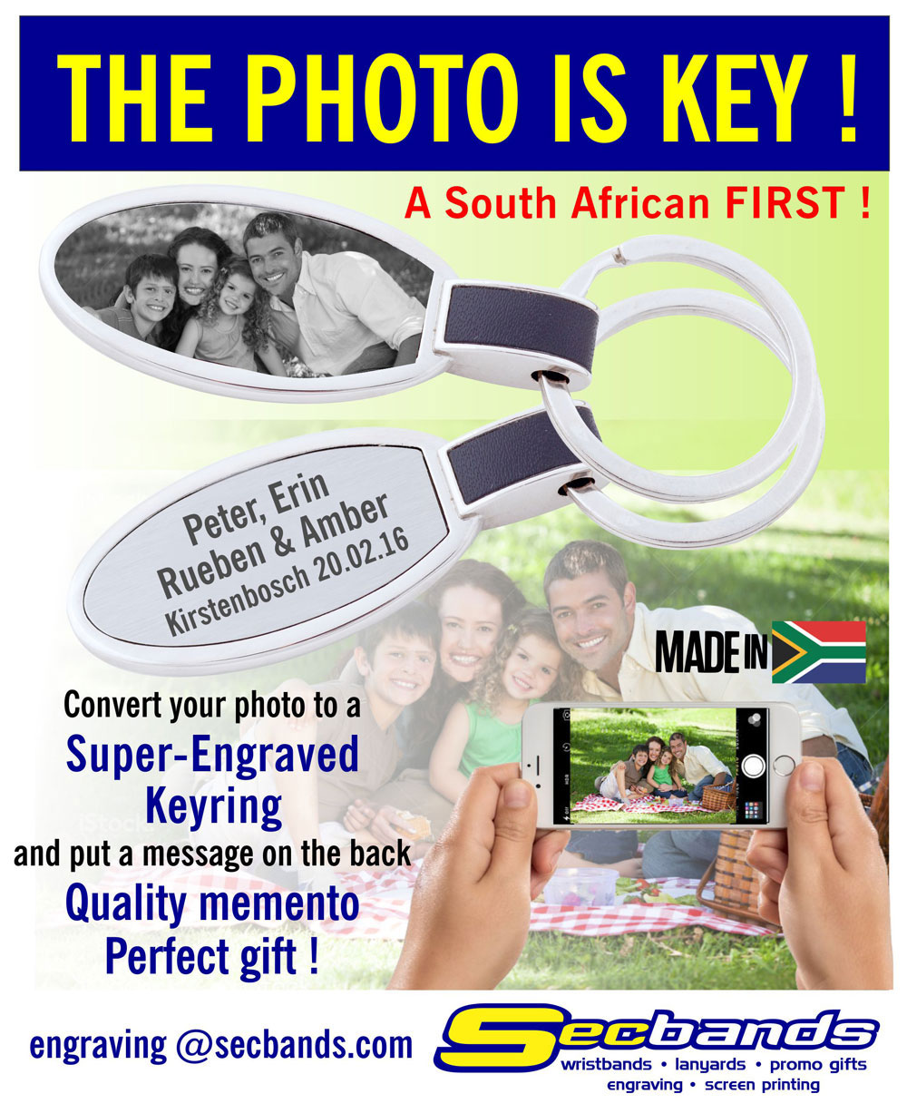 Keyring - the photo is key